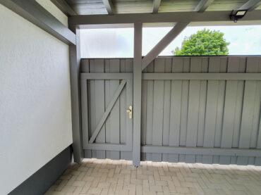Tür Hoftür Carport