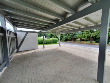 Innenansicht Carport 7 x 6,50