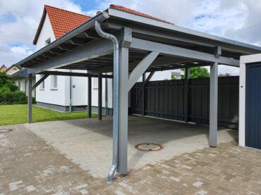 VIP - Carport für 2 PKW